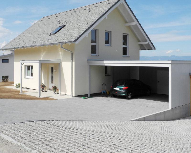 Carport En Garage : Carport garage gartenhaus Überdachung autounterstand
